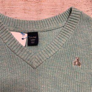 BabyGap Light Blue Sweater Vest NWOT